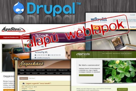 Drupal alapú weblap készítés - Internode