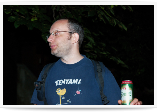 Drupal Tábor Pécs 2010 - Második nap - bográcsos vacsora