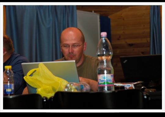 Drupal Tábor  Pécs - Harmadik nap - Előadások
