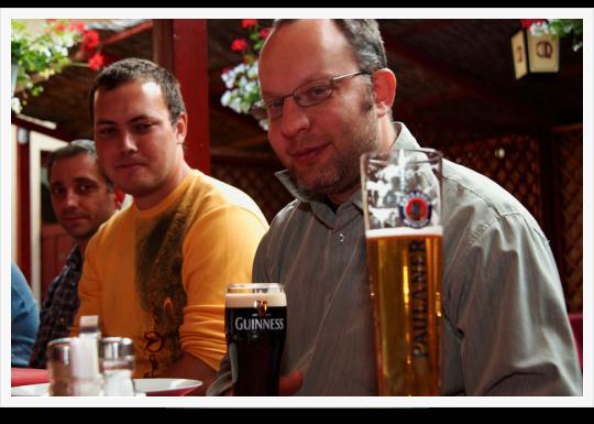 Drupal Tábor Pécs - Harmadik nap - délután, vacsora