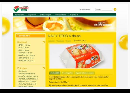 Magyar Tojás Kft. - Nagytesó