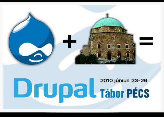 Drupal Tábor Pécs - 2010
