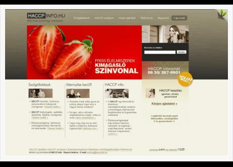 HACCPInfo - címlap